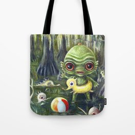 Baby Creature from the Black Lagoon Tote Bag