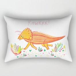 Colourful Dinosaur Rectangular Pillow