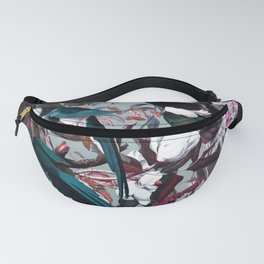 Floral and Birds XXIV Fanny Pack