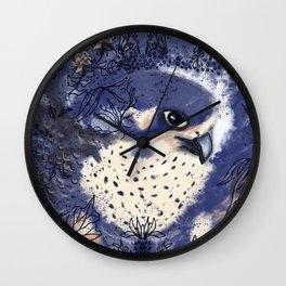 Peregrine Falcone  Wall Clock