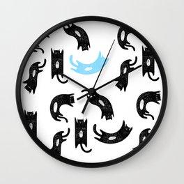 Gatos Wall Clock