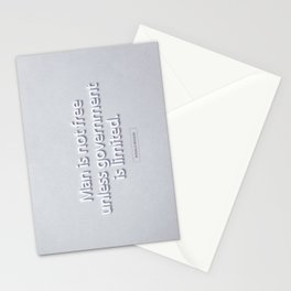 President Ronald Reagan Quote Stationery Cards