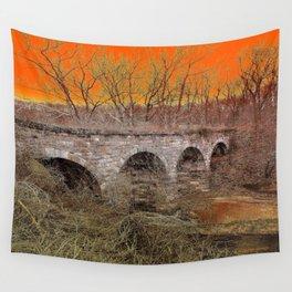 Grampa Bridge Wall Tapestry