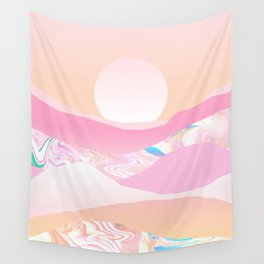 Sunrise Swirls Wall Tapestry
