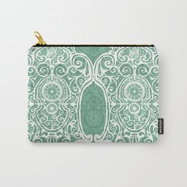 Arsenic and Clock Lace Carry-All Pouch