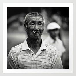 Nanai Man Art Print