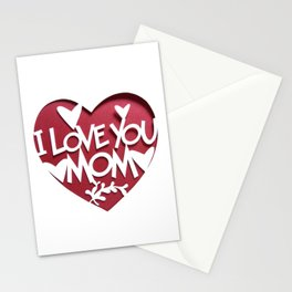 Mother's Day T-Shirt Stationery Cards
