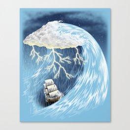 Perfect Storm Canvas Print