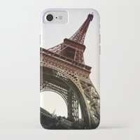 eiffel iPhone & iPod Cases featuring Eiffel  by Electric Avenue