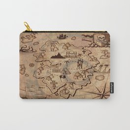 Pirate Map Carry-All Pouch
