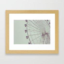 Ferriswheel Framed Art Print