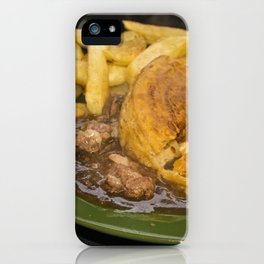 I want pie & i want some chips  iPhone Case
