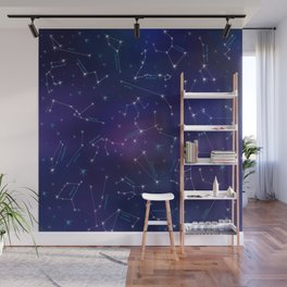 Constellation Intrigue Wall Mural
