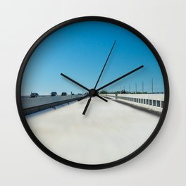 Road Tripping in Florida Wall Clock