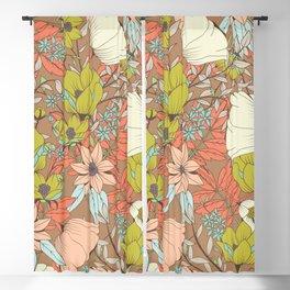 Botanical pattern 009 Blackout Curtain