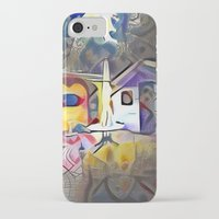 kandinsky iPhone & iPod Cases featuring The Patio. by Detailicious