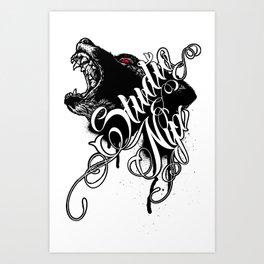 NYXbear Art Print