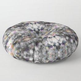 Bricolage of the Present(s) II Floor Pillow