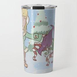 Samus in Christmas Travel Mug