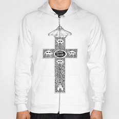 Celtic Invader Cross Hoody