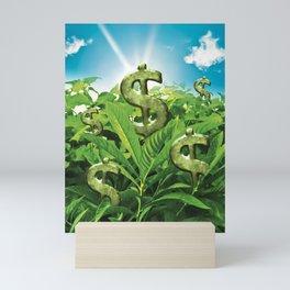 The Land Where Wealthy Grows Mini Art Print