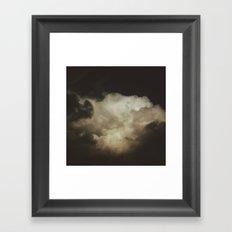 Crown of Clouds Framed Art Print
