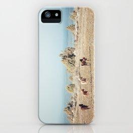 Oregon Wilderness Horses iPhone Case