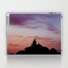 Man Enjoying Sunset II Laptop & iPad Skin