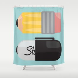 """The Essentials"" Shower Curtain"
