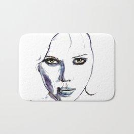 Lucy - Scarlett Johansson  Bath Mat