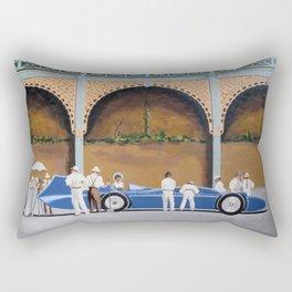 The Brighton Bluebird Rectangular Pillow