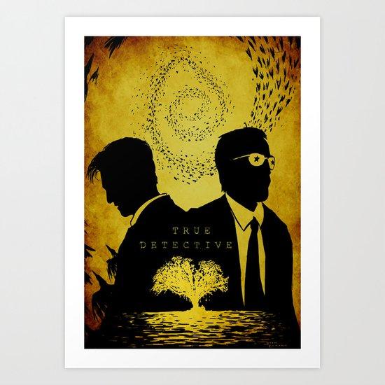 True Detective Art Print