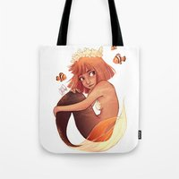aries Tote Bags featuring ARIES by Laia™