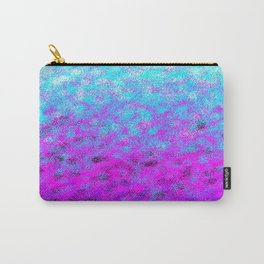 Totally Awesome Bright Turquoise & Fuchsia Pink Carry-All Pouch