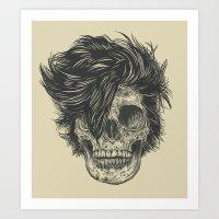 dead Art Prints featuring Dead Duran by Rachel Caldwell