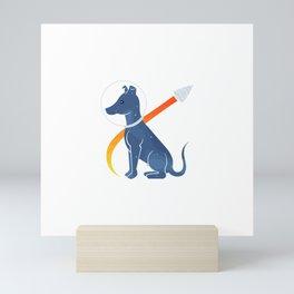 Good Dog, Laika Mini Art Print