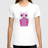 ikat T-shirts featuring Ikat Owl by maybesparrowphotography