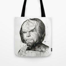 Star Trek: Worf Tote Bag