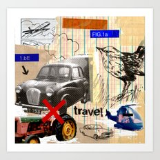 Travel Art Print