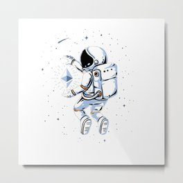 astronout Metal Print