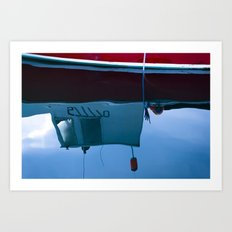Gloucester Reflections Art Print