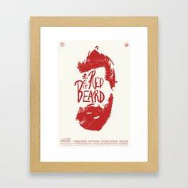 Red Beard Framed Art Print