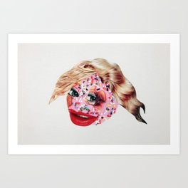 Sugar Lips Art Print