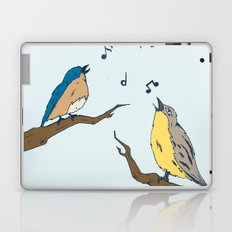 Four Calling Birds Laptop & iPad Skin