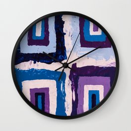 Magical doorways Wall Clock