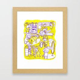 Lovers Game Framed Art Print