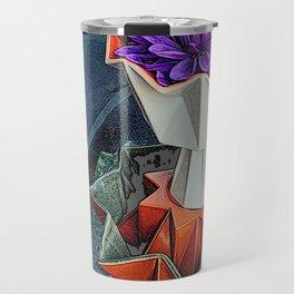 Placed On A Pedestal Travel Mug