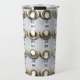 Mechanical switches on old device Travel Mug