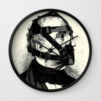 bdsm Wall Clocks featuring BDSM XXXX by DIVIDUS