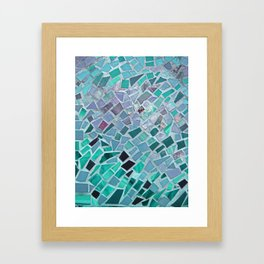 Energy Mosaic Framed Art Print